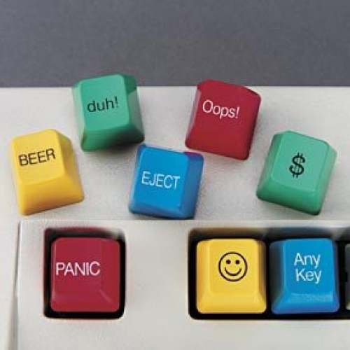 Novelty Computer Keys