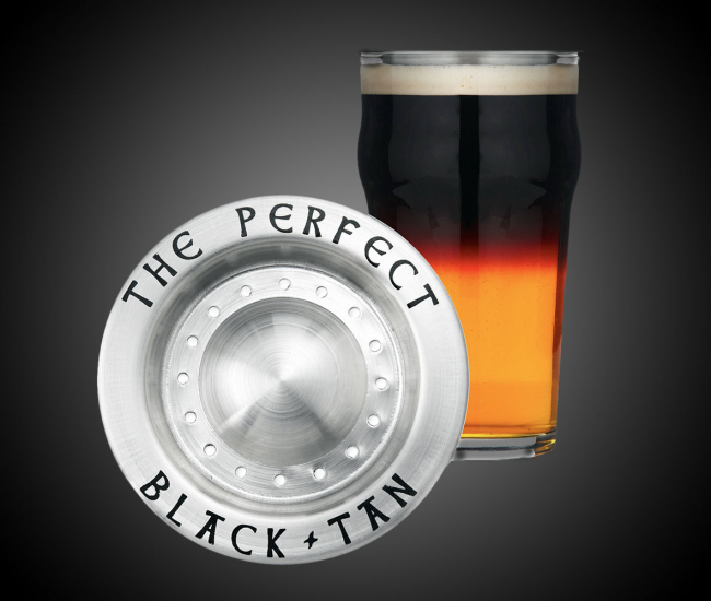 The Perfect Black And Tan Beer Layering Tool