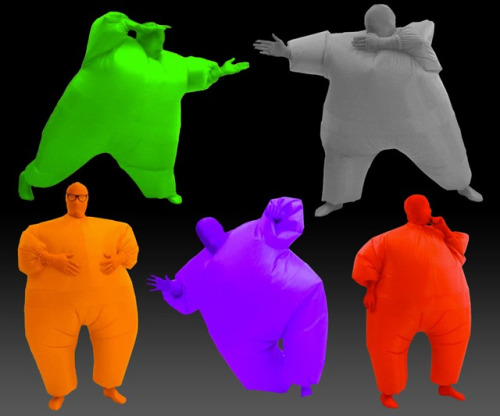 Inflatable Chub Suits Huge Waste Of Money